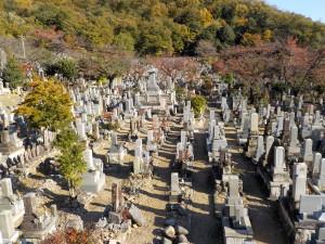 上加納山墓地