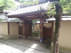 伝統と格式のある山門