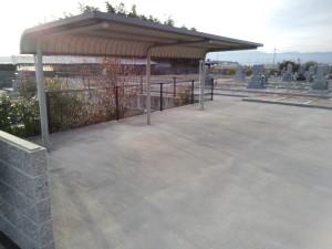 駐輪所も完備されています