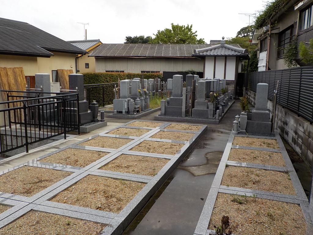 巻石施工済みの空き墓地ですぐに墓碑建立できます