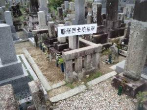 膳所烈士の墓所②