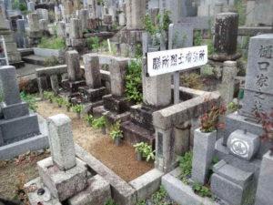 膳所烈士の墓所①